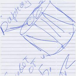 Автограф «Запрещенных барабанщиков» Барнаульскому городскому порталу