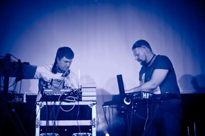 Nuclear Losь и Сергей Тимофеев (саксофон) в гриль-баре «Carte Blanche», Барнаул