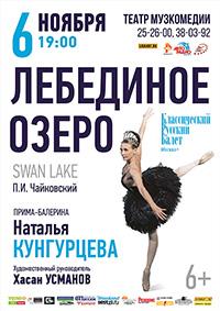 «Лебединое озеро» в Барнауле