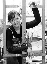 Виолетта Метелица, художница, Барнаул
