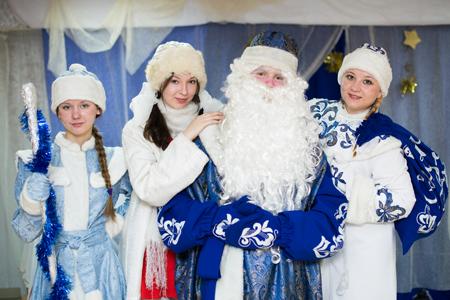 Молодежная акция «Забег Дедов Морозов» в Барнауле