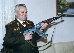 Калашников Михаил Тимофеевич - разработчик автомата АК-47, Барнаул