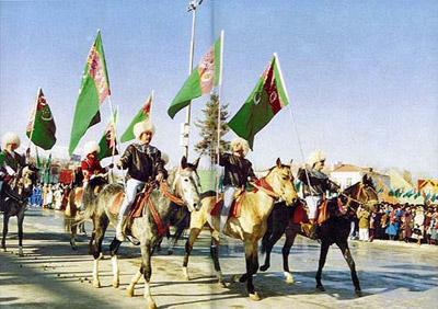 День туркменского скакуна