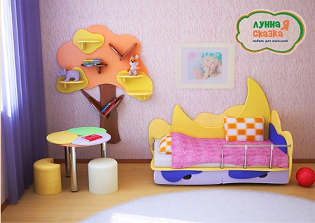 Детская мебель Лунная сказка