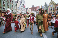 День рождения королевы, парад, Нидерланды