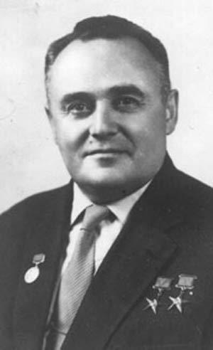 Сергей Павлович Королев, конструктор и организатор производства ракетно-космической техники и ракетного оружия СССР, отец советсткой космонавтики.