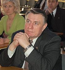 Лопаткин Владимир Михайлович, ректор Барнаульского государственного педагогического университета, кандидат физико-математических наук, профессор, Почетный гражданин Барнаула