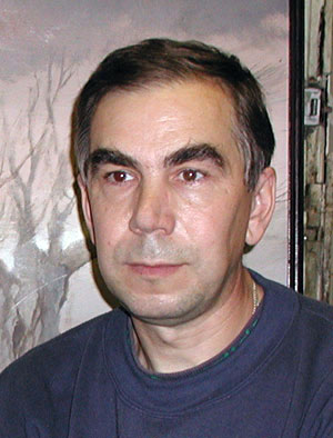 Художник Валерий Октябрь, Барнаул