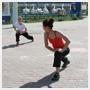 Фитнес на свежем воздухе от фитнес-клуба «Максима» и Мастер-класс для детей по квиллингу от творческой мастерской «Забава» в парке «На Лазурной», Барнаул
